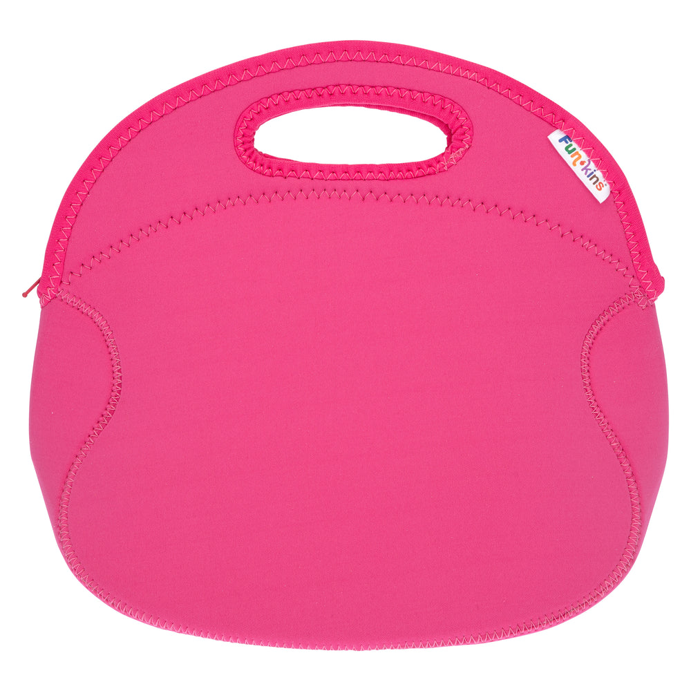 Bright Pink Lunch Bag