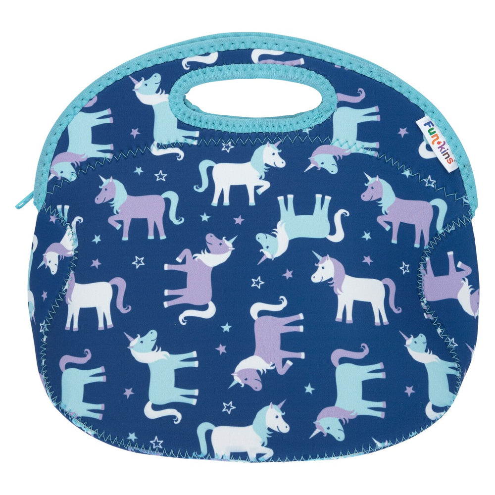 Funkins magical unicorns kids insulated machine washable lunch bag