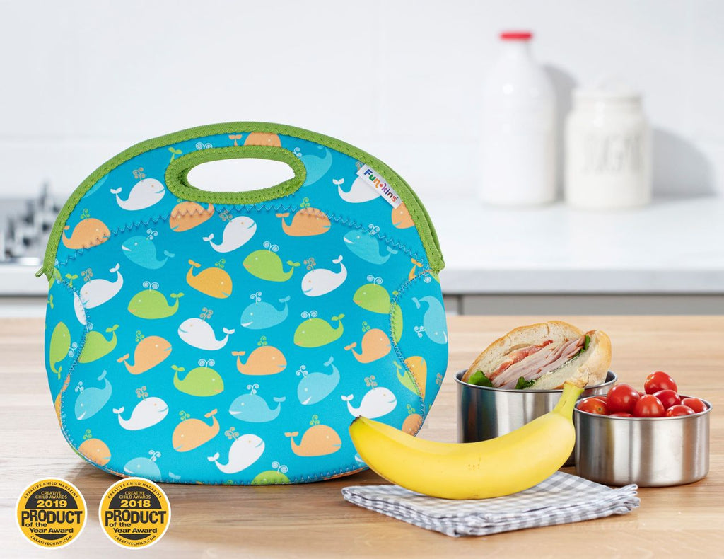 Whale Friends Lunch Bag