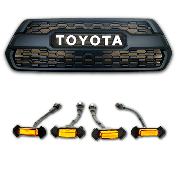 2016-2020 tacoma-trd-pro-grill-tss-garnish-led-raptor-lights-9