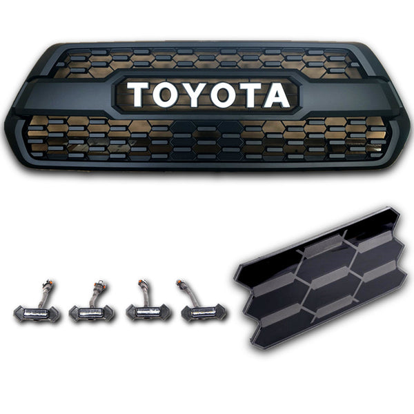 2016-2020 tacoma-trd-pro-grill-tss-garnish-led-raptor-lights-13