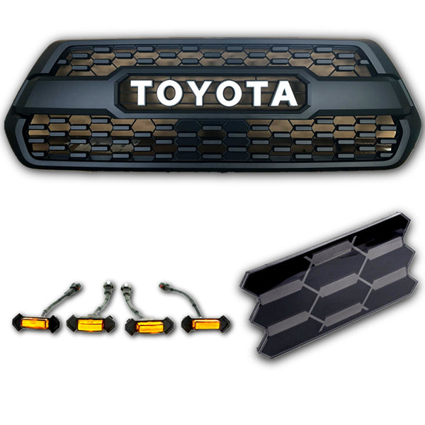 2016-2020 tacoma-trd-pro-grill-tss-garnish-led-raptor-lights-17
