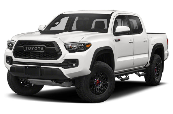 Tacoma TRD PRO Front Grill Grille (Black/Silver/Red/White) (Fits: 2016-2021)