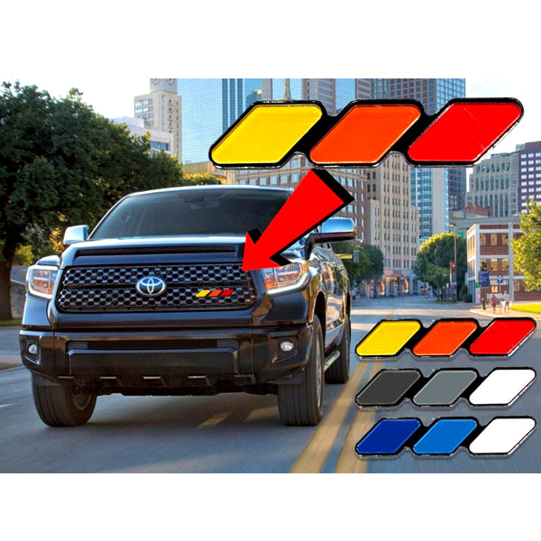 Tri-color Badge Emblem for Tacoma/Tundra/4Runner