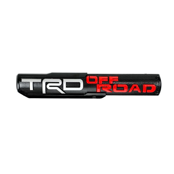 Tacoma, 4Runner, Tundra Door Emblem Sticker Badge (Trd Pro/Trd Off Road/Trd Sport/Trd Bro)