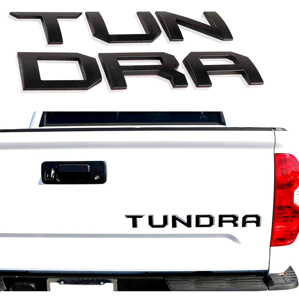 Tundra Tailgate Lettering Inserts (Fit: 2014-2020)
