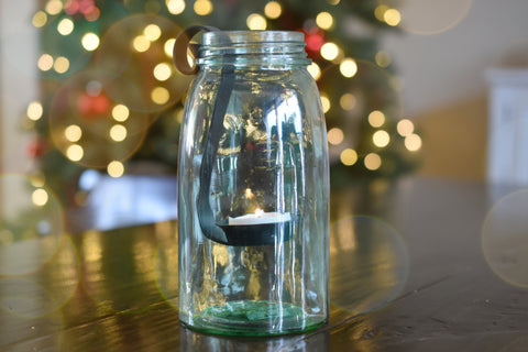 Mason Jar Tealight Candle Holder