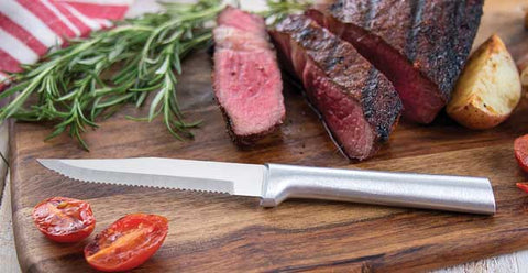 Rada Stainless Steel Serrated Steak Knife