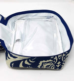 Load image into Gallery viewer, Just In Case™ Bordeaux Travel Medicine/Toiletry Pouch