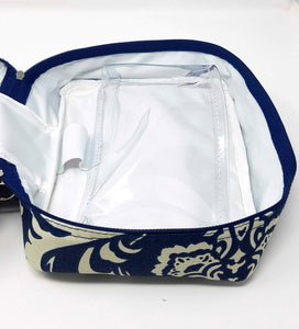 Just In Case™ Bordeaux Travel Medicine/Toiletry Pouch