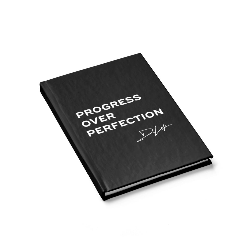 """Progress Over Perfection"" Journal"