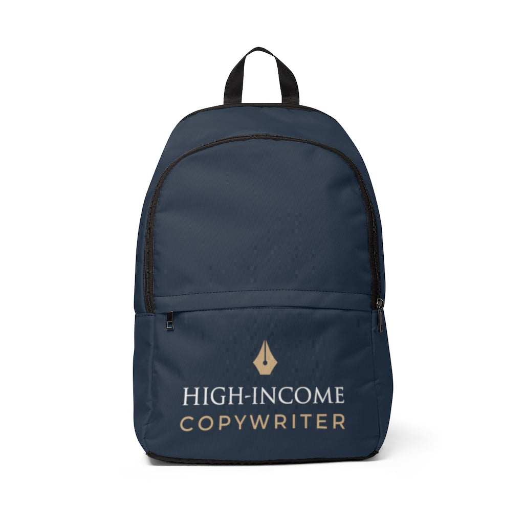 High-Income Copywriter Backpack