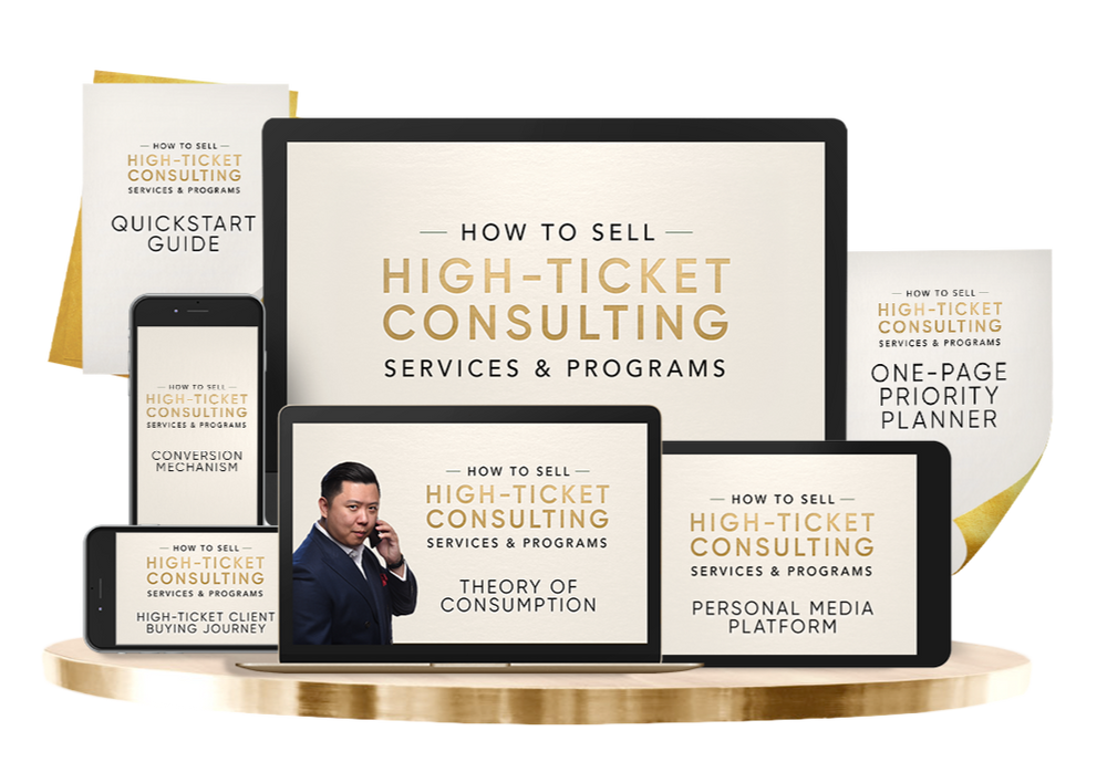 How To Sell High Ticket Services