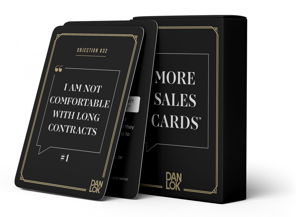 More Sales Cards
