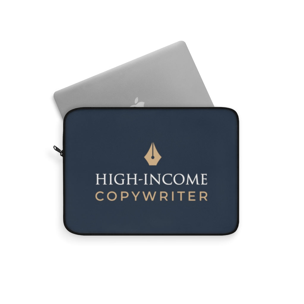 High-Income Copywriter Laptop Sleeve