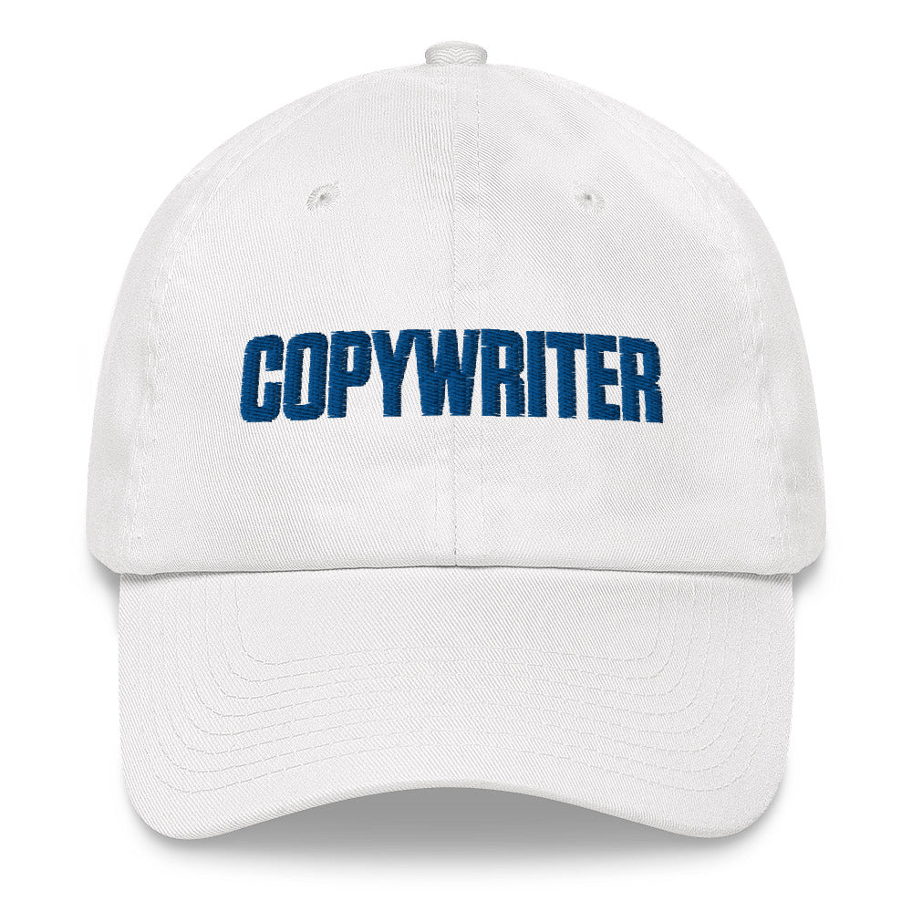 COPYWRITER Curved Brim Hat