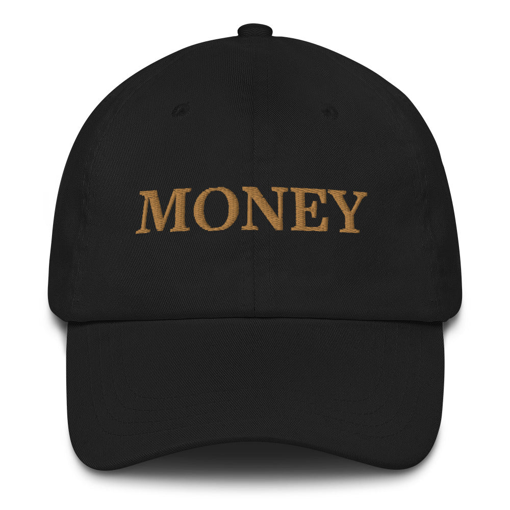 MONEY Curved Brim Hat