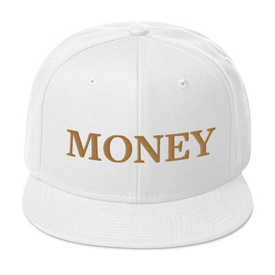 MONEY Flat Brim Hat