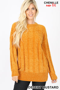 Forever Thankful Chenille sweater