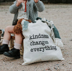 Kindness Changes Everything Canvas Bag