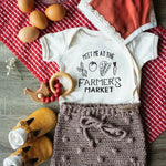 Meet Me At The Farmer's Market | Bodysuit | Toddler Tee