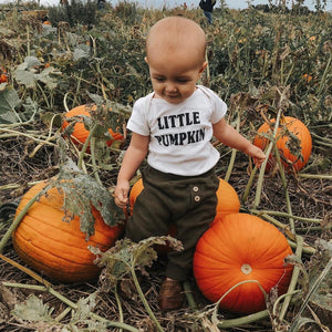 Little Pumpkin | Bodysuit | Toddler Tee