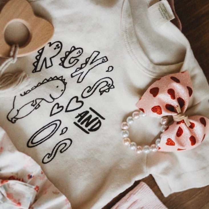 Rex's and O's | Bodysuit | Toddler Tee