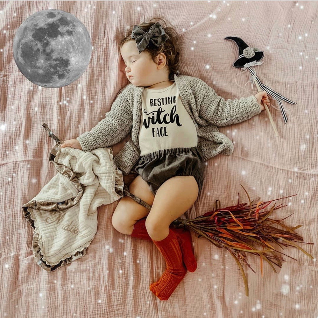 Resting Witch Face | Bodysuit | Toddler Tee