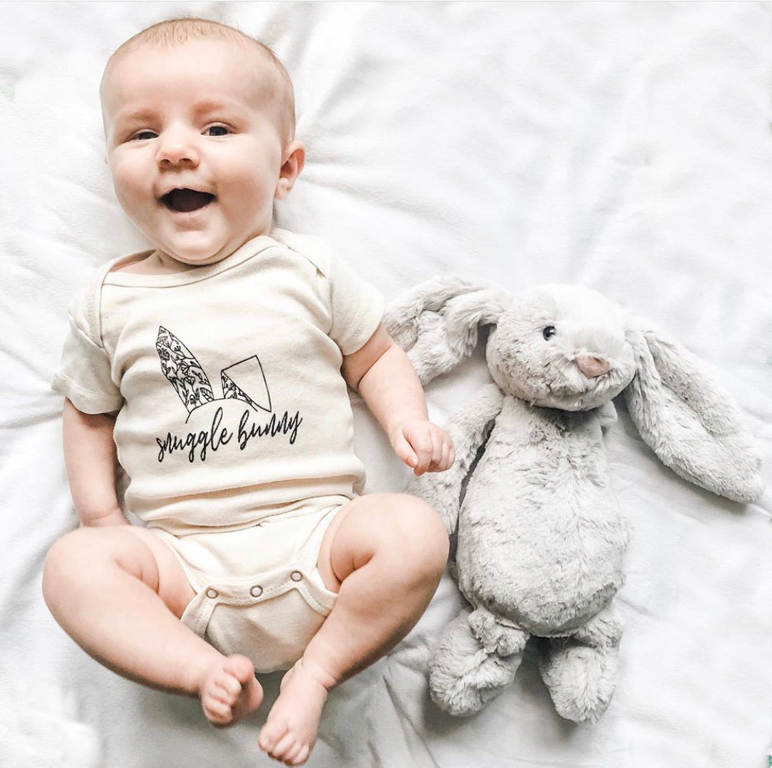 Snuggle Bunny | Bodysuit | Toddler Tee