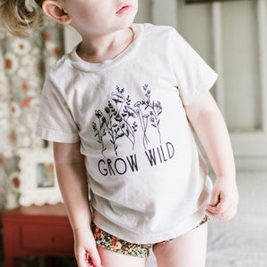 Grow Wild | Bodysuit | Toddler Tee