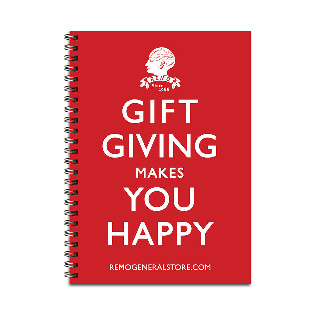 Gift Giving Makes You Happy. Free Book with Orders.
