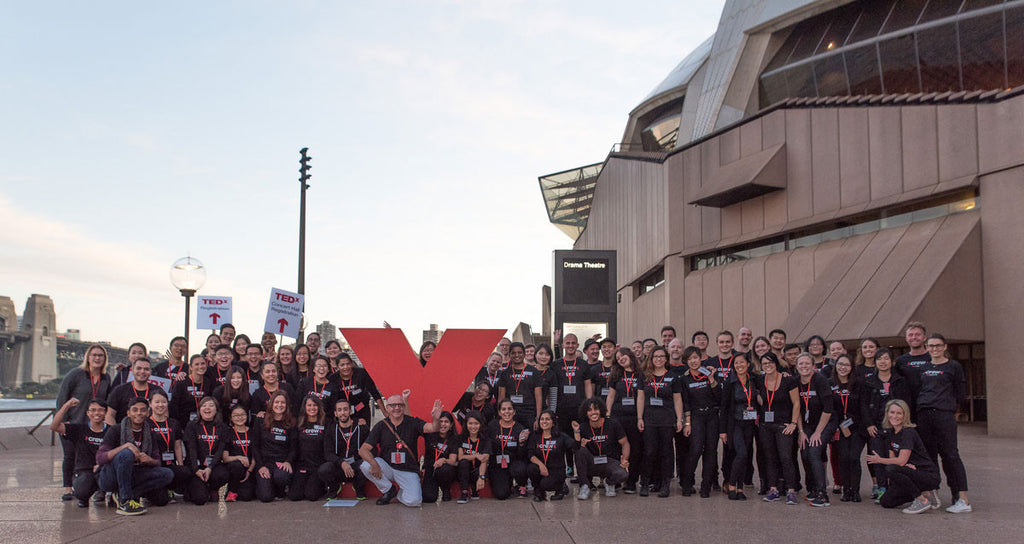 REMO T Shirts for TEDxSydney 2016 Volunteers