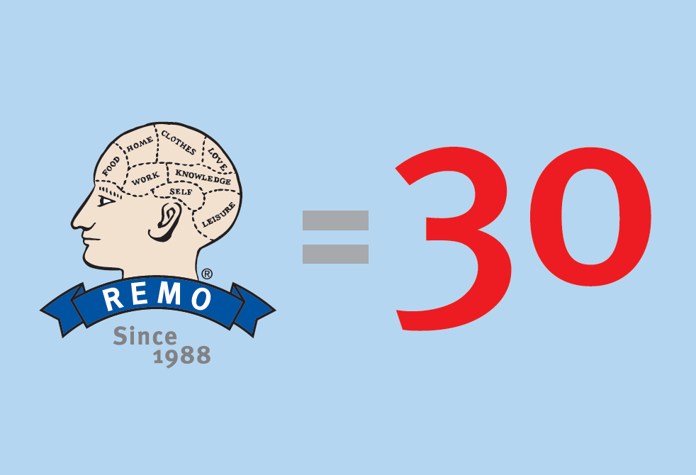 REMO is 30 Today | Celebration 30% Off