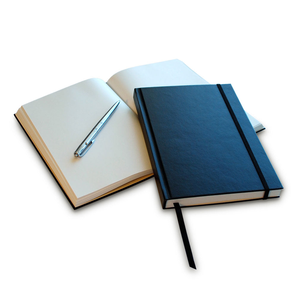 20% Off NEW Black Hardcover Notebooks