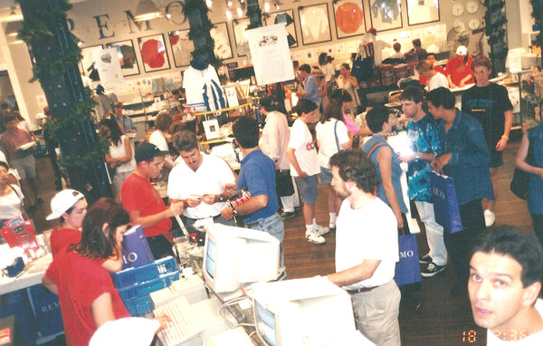 Busy REMO in December 1993