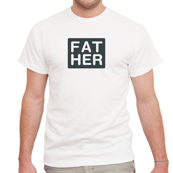 Fat Her on White