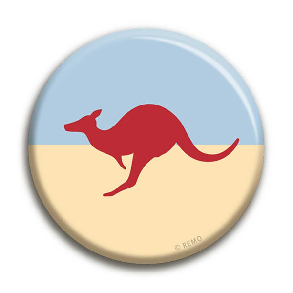 Kangaroo Badge