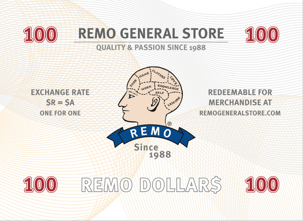 100 REMO Dollars for Dad