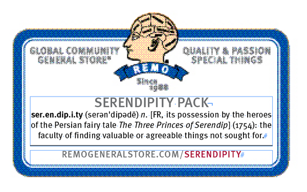 Serendipity Pack Sticker Layout