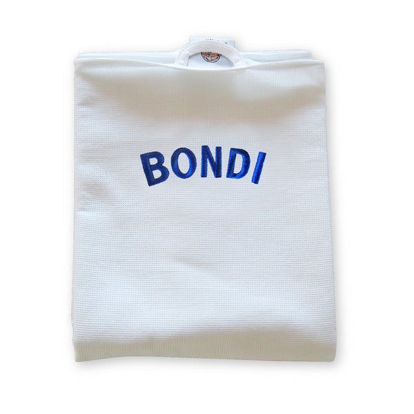 Bondi Waffleweave travel Towel