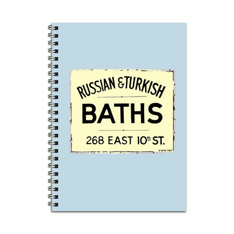 10th Street Baths Notebook