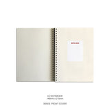 GT Blank Bubble Notebook