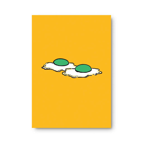 Green Eggs Sticky Note Pad