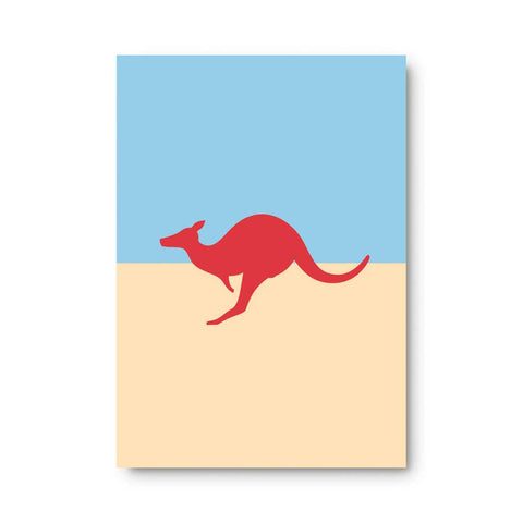 Kangaroo Sticky Note Pad