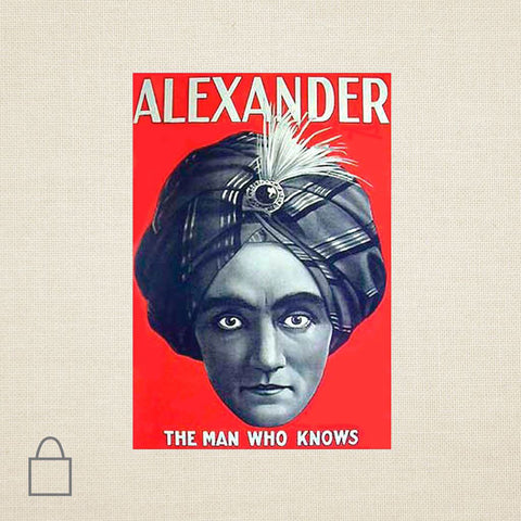 Alexander Knows Tote Bags
