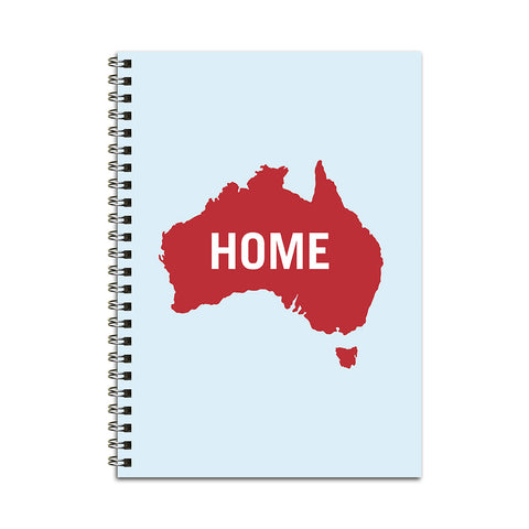 Australia HOME Notebook