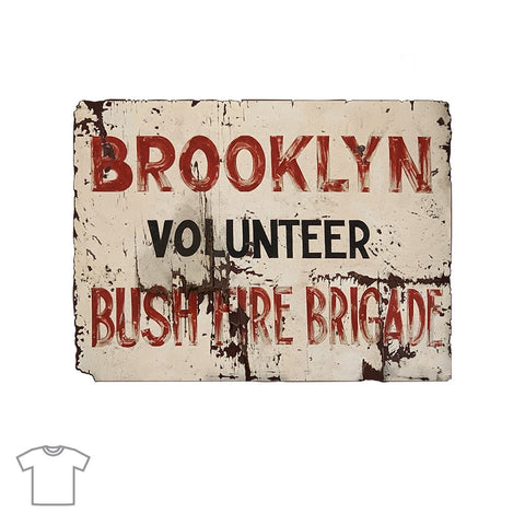 Brooklyn Bushfire Brigade T Shirts