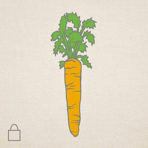 Carrot & Bunny Tote Bags