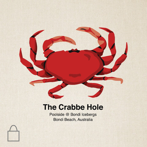 Crabbe Hole Tote Bags