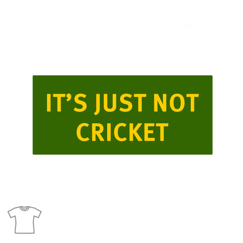 Not Cricket T Shirt for Women